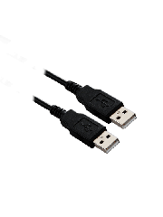 Spire USB 2.0 1-Metre Male to Male Cable - Black