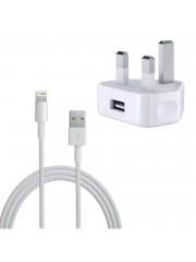 Refurbished Genuine Apple iPad Mini Mains Charger With Data Lead, A - White