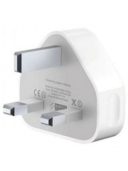 Refurbished Genuine Apple iPhone 5S 6 Plus 6S 7 7S iPad Mini 2 3 Air Mains Charger Plug Only, A - White