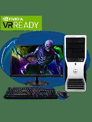 Refurb - Dell Intel Xeon X5550, 4TB HDD, 32GB RAM, 19-Inch, Full Set Gaming PC, B