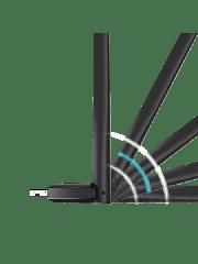TP-LINK (Archer T2U Plus) AC600 (433+200) High Gain Wireless Dual Band USB Adapter