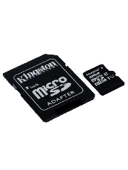 Kingston 32GB Canvas Select Micro SD Card with SD Adapter - Class 10