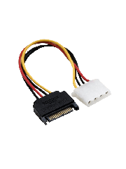 Akasa SATA to 4-Pin Molex 15CM Cable