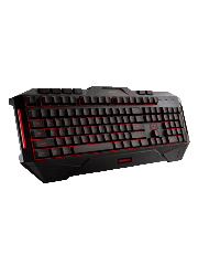 Asus Cerberus Gaming Keyboard Macro Keys 2 Colour LED Backlighting 19 Anti Ghosting Keys