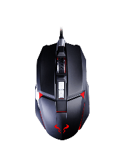 Riotoro AUROX Prism Wired Optical RGB Gaming Mouse - Black