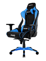 AKRacing Masters Series Pro Gaming Chair - Black & Blue