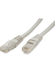 Sandberg 10 Metres Full Copper Moulded CAT6 UTP Patch Cable - White