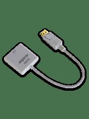 Approx (APPC16) DisplayPort To HDMI Female Converter - White