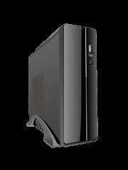 Antec VSK2000-U3 Micro ATX Slimline Desktop Case, No PSU (TFX Only), Tool-less, Black