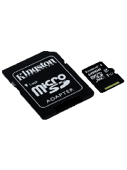 Kingston 128GB Canvas Select Micro SDXC Card with SD Adapter - Class 10