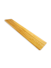 Xtrfy WR1 Bamboo Wrist Rest for Keyboard - Brown