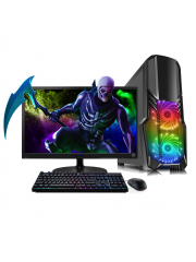 Refurbished Super Fast Gaming PC Bundle Intel Core i5 Quad Core 16GB RAM 1TB HDD GT 710 2GB WiFi UK Win 10