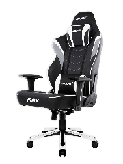 AKRacing Masters Series Max Gaming Chair - Black & White