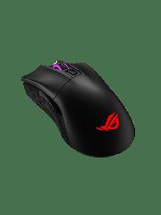 Asus ROG Gladius II Wireless / Bluetooth Gaming Mouse with RGB Lighting - Black