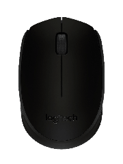 Logitech B170 Wireless Optical Mouse - Black