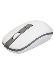 Approx APPWMVWG Wireless Optical Mouse, 800 - 1600 DPI, Nano USB - White & Grey