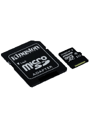 Kingston 256GB Canvas Select Micro SDXC Card with SD Adapter - Class 10