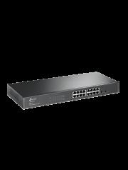TP-Link (T1600G-18TS) 16-Port Gigabit Smart Switch, 2 SFP Slots, VLAN, L2+