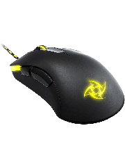 Xtrfy M1 Wired Optical Gaming Mouse with LED - Black & Yellow
