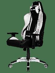 AKRacing Masters Series Premium Gaming Chair - Black & Silver
