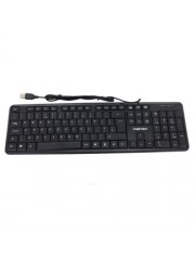 Compoint CP-K8014 Wired USB Keyboard 108 Keys - Black