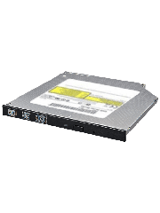 LG Slimline DVD Re-Writer, SATA, 8x, 12.7mm High, OEM - Black