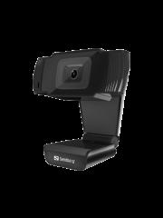 Sandberg USB Webcam/480p/ Mic/ Auto Light Correction/ 30° Rotatable/ 5 Year Warranty