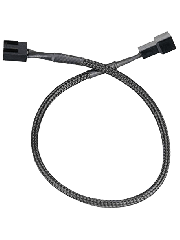 Akasa PWM Fan 30CM Extension Cable - Black