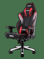AKRacing Masters Series Max Gaming Chair - Black & Red