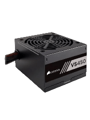 Corsair 450W Builder Series VS450 PSU, Sleeve Bearing Fan, Fully Wired, 80+ White