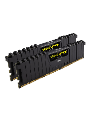 Corsair Vengeance LPX 16GB Kit (2 x 8GB), DDR4, 2400MHz (PC4-19200), CL16, XMP 2.0, DIMM Memory