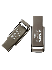 ADATA 64GB USB 3.0 Memory Pen Capless Chromium - Grey