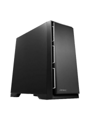 """Antec P101S Silent E-ATX Case, No PSU, Sound Dampening, Tool-less, 4 Fans, Supports up to 8 x 3.5"""" Drives"""