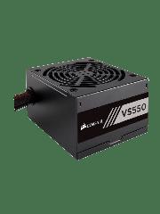 Corsair 550W Builder Series VS550 PSU, Sleeve Bearing Fan, Fully Wired, 80+ White