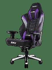 AKRacing Masters Series Max Gaming Chair - Black & Indigo