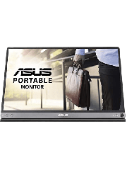 "Asus 15.6"" Portable IPS Monitor (ZenScreen MB16ACM), 1920 x 1080, USB-C, USB-powered, Auto-rotatable, Hybrid Signal, Smart Case Stand"