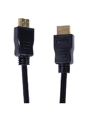 Spire HDMI 2.0 Cable 2-Metres High Speed 4K UHD Support, Gold Plated Connectors - Black