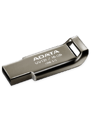 ADATA 16GB USB 3.0 Memory Pen Capless Chromium - Grey