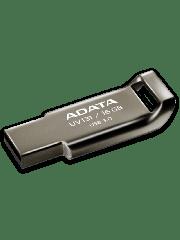ADATA 16GB USB 3.0 Memory Pen Capless Chromium - Grey