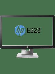 HP IPS Monitor (E222)/21.5-inch/1920 x 1080/7ms/VGA/HDMI/DisplayPort/2 USB/Fully Adjustable *GRADE A REFURB*