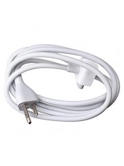 Refurbished Genuine Apple MacBook Magsafe Power Adapter Extension Cable Lead, A - White