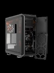 Be Quiet! Dark Base 900 Gaming Case, E-ATX, No PSU, Tool-less, 3 x Silent Wings 3 Fans, Modular Construction, Silver Trim