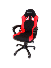 Sandberg Warrior Gaming Chair, Tiltable & Height Adjustable - Black & Red