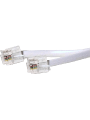 Sandberg 1.8-Metre RJ11 to RJ11 Cable - White