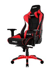 AKRacing Masters Series Pro Gaming Chair - Black & Red