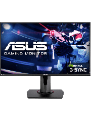 "Asus 27"" Gaming Monitor (VG278QR), 1920 x 1080, 0.5ms, DVI, HDMI, DP, G-SYNC, 165Hz, VESA"