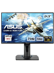 "Asus 24.5"" Console Gaming Monitor (VG255H), 1920 x 1080, 1ms, VGA, 2 HDMI, GameFast Input Tech, FreeSync, VESA"
