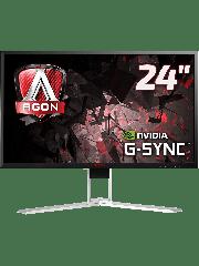 Brand New AOC AGON AG241QG 23.8-inch Widescreen TN LED Multimedia Monitor G-Sync-Black/Red (2560x1440/1ms/HDMI/DP/USB)