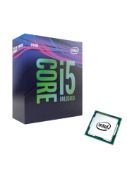 Intel Core I5-9600K CPU, 1151, 3.7 GHz (4.6 Turbo), 6-Core, 95W, 14nm, 9MB, Overclockable, NO HEATSINK/FAN, Coffee Lake