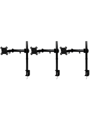 "Arctic Z3 Basic Triple Monitor Arms, 13"" - 43"" Monitors - Black"